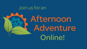 Join us for an Afternoon Adventure Online!