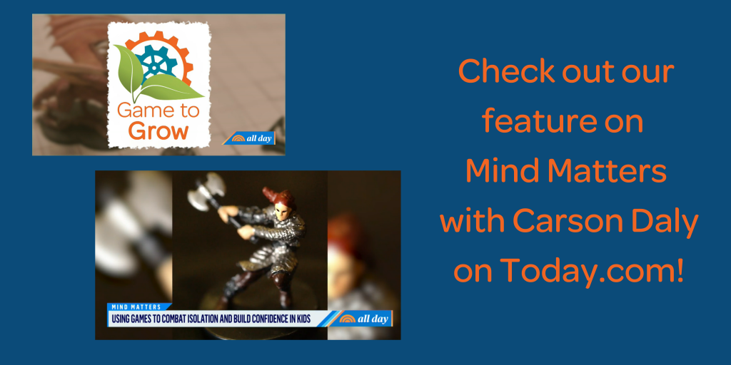 Check out our feature on Mind Matters with Carson Daly on Today.com!